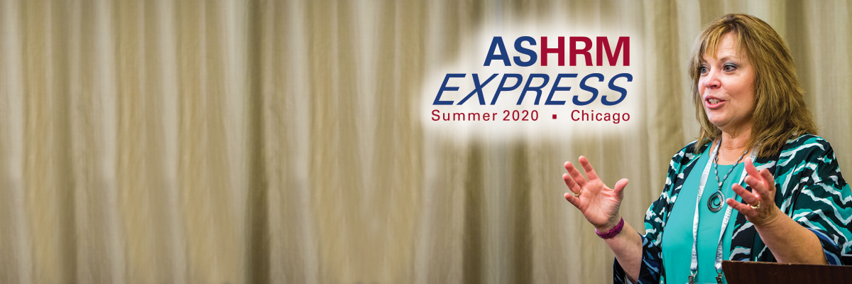 ASHRM Express Home Page Banner
